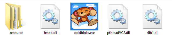 Ookibloks app icon in Windows Explorer looking nice and crisp